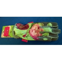 ROYAL HORTICULTURAL SOCIETY ROSA CHINENSIS GARDENING GLOVES - MID SEASON SALE – 30% OFF – WAS £20.99
